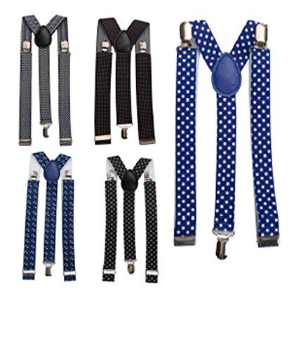 Lote de 10 Tirantes para Pantalones Hombres o Mujeres - Tirantes Originales para regalos de Bodas, detalles y recuerdos Hombres