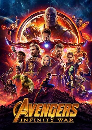 ZHEHAN Pintar por Numeros Adultos Vengadores: Infinity War Pint por Número de Kits for Adultos Mayores Avanzada Niños Joven - 16X24 Inch