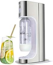 HENGGE Machine À Bulles Soda, Machine À Soda en Acier Inoxydable, avec 2 Bouteilles De 1 Litre, Amovible Et Facile À Une M...