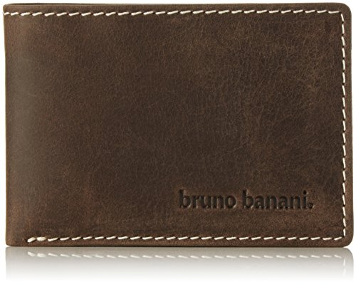 Bruno Banani Phoenix - Cartera para hombre, color marrón (braun), talla 10x7x1 cm (B x H x T)