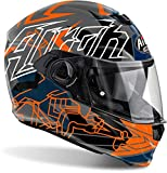 Airoh - casco moto airoh storm bionikle orange gloss stbi32 - cast6c - m