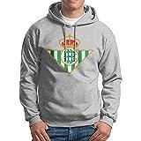 Man Real Betis Logo Design Causal 100% Cotton Hoodie