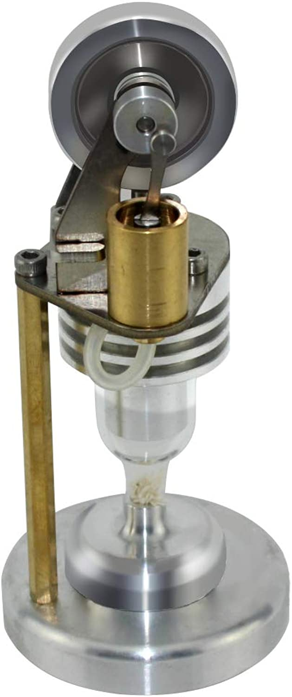 Sukisuki DIY Air Stirling Engine Model Balance Motor Heat Steam Toy Physics Education Model Toy Kit As One size