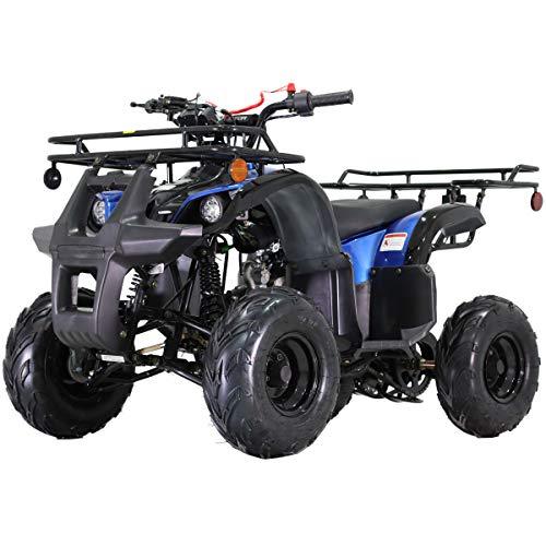 X-PRO 125cc ATV Quad Kids ATV Youth ATV 4 Wheeler 125 ATV Quads,Blue