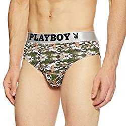 Playboy Mens Printed Brief