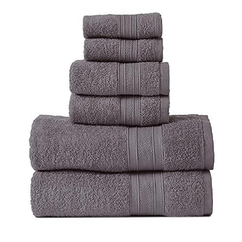 Super Soft 6-piece Bathroom Towel Set