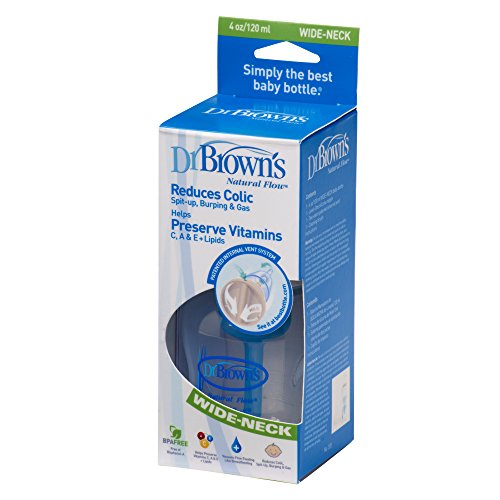Dr. Browns DRB-PP-455DE Completo, Biberón Anticólico, 120 ml, sin BPA