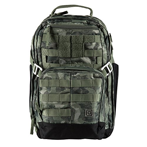 5.11 TACTICAL SERIES MIRA Backpack 20L Mochila Tipo Casual, 46 cm, 20 Liters, Multicolor (Moss Camo)