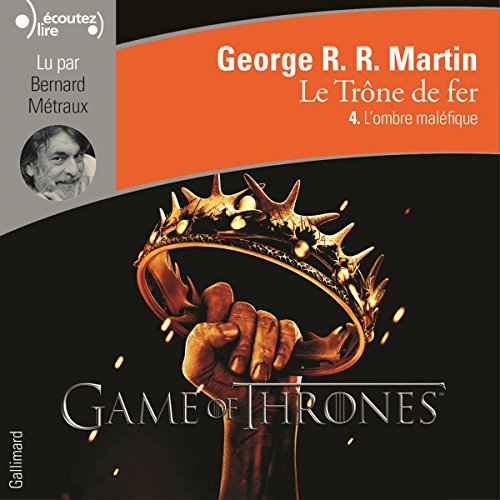 L'ombre maléfique audiobook cover art