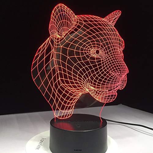 jiushixw 3D acryl nachtlampje met afstandsbediening kleurverandering tafellamp alarm groot productzoekstijl romantisch creatief rookglas tafellamp top maken