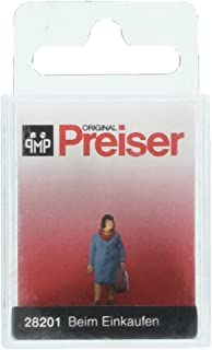 Preiser 28201 Going Shopping Individual Figure HO Model Figure