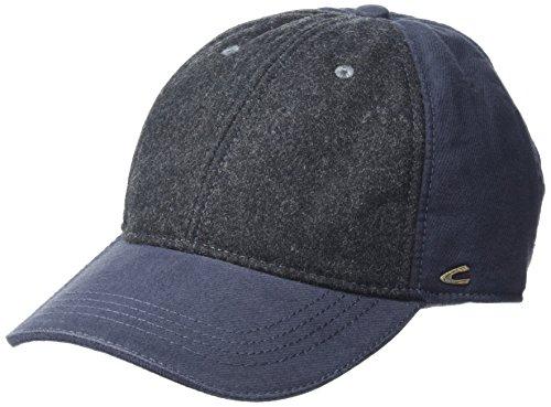 camel active Herren 406160/6C16 Baseball Cap, Blau (Marine 43), Large