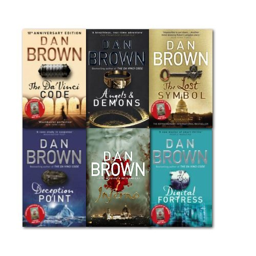 dan brown books rated