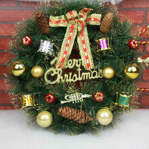 40cm Babbo Natale pupazzo di neve ghirlande Mall hotel dissimulata come albero di Natale ghirlande di porte