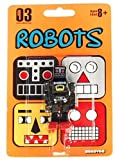 Cuboyds Series 03 Mini Super Articulated Action Figure Robots Cuboyd roK (Black) by Stikfas