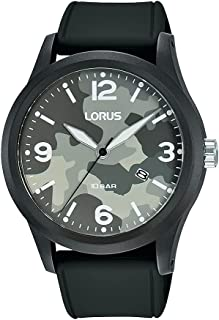ساعة سبورتس بسوار من السيليكون للرجال من لوراس RH913MX9