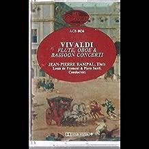 Jean Pierre Rampal: Vivaldi Concerti For Flute, Oboe & Basson Cassette NM Canada