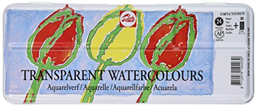 Talens Transparent Watercolor Set of 24