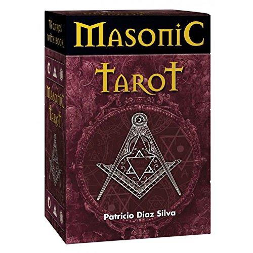 Green Cross Toad Set Masonic Tarot por Patricio Diaz Silva, Estuche en Caja Dura con 78 Cartas y Guía Multilingüe: Amazon.es: Hogar
