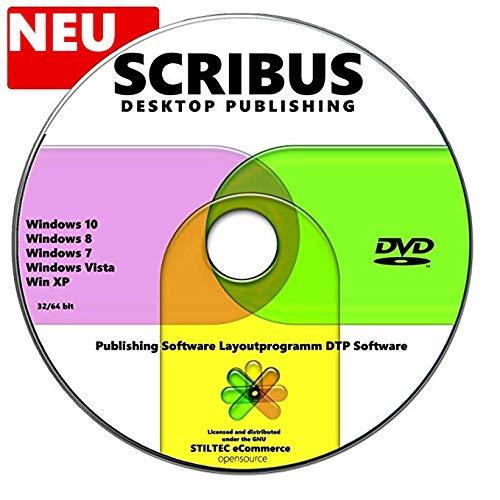 SCRIBUS Desktop Publishing Software Layoutprogramm DTP Software