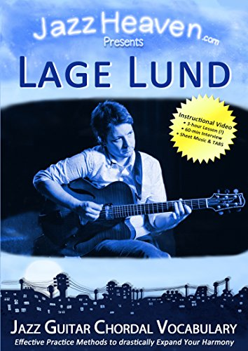 JazzGitarre Lehr-DVD Lage Lund Jazz Guitar Chordal Vocabulary Harmony Improvisation Video Licks Techniken Jazz Gitarre Lernen Harmonik Tipps Harmonielehre Akkorde Jazz-Gitarre