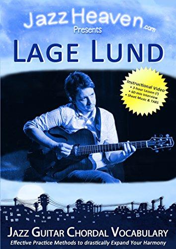 JazzGitarre Lehr-DVD Lage Lund Jazz Guitar Chordal Vocabulary Harmony Improvisation Video Licks Techniken Jazz Gitarre Lernen Harmonik Tipps Harmonielehre Akkorde Jazz-Gitarre