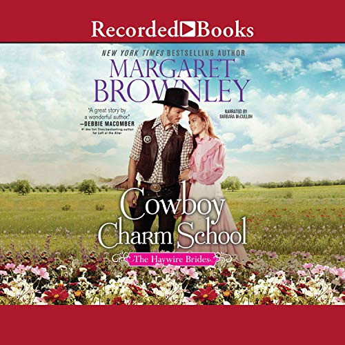 Cowboy Charm School audiobook cover art