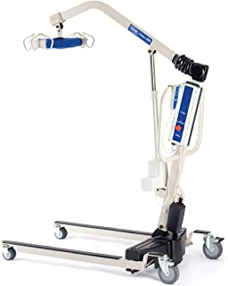 Invacare Reliant Battery-Powered Patient Lift with Power-Opening Low Base, 450 lb. Weight Capacity, RPL450-2
