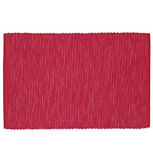 4 Tischsets Breeze im SPARPACK von Sander Rips Baumwolle große Farbauswahl (14 - pink)