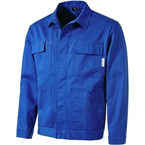 Pionier  workwear Herren Bundjacke Cotton Pure in Kornblau (Art.-Nr. 9292) Kornblau,Größe 102