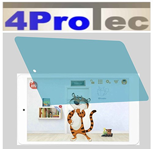 4ProTec I 2X ANTIREFLEX matt Schutzfolie für Odys TigerTab 8 Premium Displayschutzfolie Bildschirmschutzfolie Schutzhülle Displayschutz Displayfolie Folie