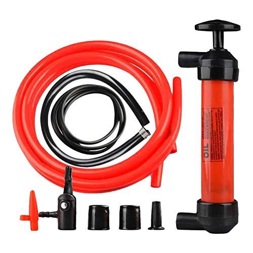PoeHXtyy Extractor de fluido de aceite, cambiador automático de aceite Líquido de vacío Bomba de extracción de líquido Bomba de jeringa manual de diesel Kit de bomba de cambio de aceite