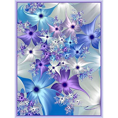 Norbi Pintura con Diamantes Indios y Lobo Bordado Diamante por número Kits de Pintura de Punto de Cruz Kit de decoración de Pared para niños Adultos Principiantes