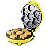 Gpzj Cake Maker, Multi-Functional Snack Baking Dessert Maker Baking Fun Cake Pop Maker Superfici di Cottura rivestite antiaderenti Macchina per Fare da Forno, Rosa