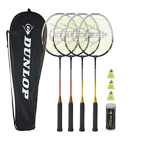 Dunlop Sports Blast SS 30 4-Player Badminton Set with Net