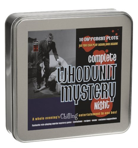 Complete Whodunit Mystery Night Role-Playing Mystery Game in Tin by Lagoon Group