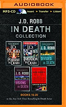 MP3 CD J. D. Robb In Death Collection Books 16-20: Portrait in Death, Imitation in Death, Divided in Death, Visions in Death, Survivor in Death (In Death Series) Book