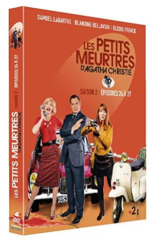 Les Petits meurtres d'Agatha Christie - Saison 2 - Épisodes 24 à 27 [Francia] [DVD]