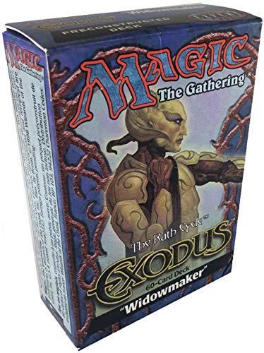 Magic the Gathering Exodus Edition Widowmaker Theme Deck
