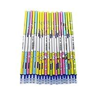 20 Pcs Blue Ink Refil 10/20pcs/set Erasable Pen Washable Handle 0.5mm Blue Black Ink Blue Gel Pen Erasable Refill Rod School Office Writing Stationery