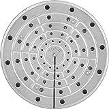 INOXPRAN Tuka Placa Térmica, 20 cm, Acero Inoxidable