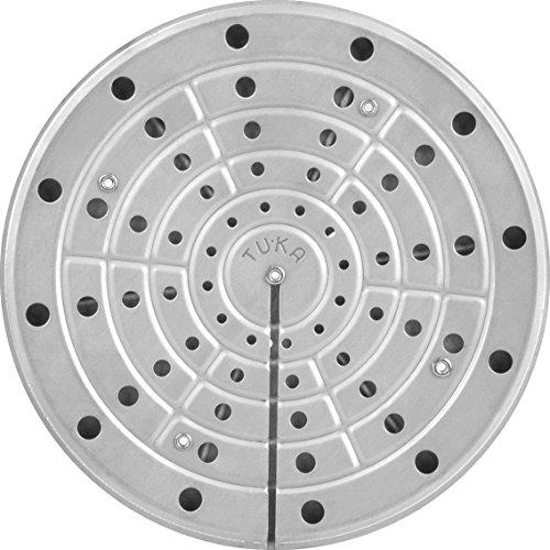 INOXPRAN Tuka Platte Wärme, 20cm, Edelstahl