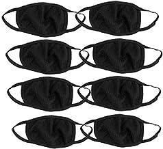Shivam_Enterprises_ Unisex Anti-Pollution Dust Cotton Mouth Mask - Pack of 8