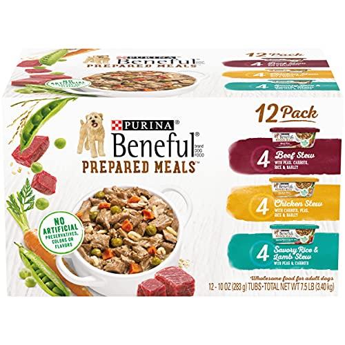 Purina Beneful Gravy Wet Dog Food Variety Pack,...