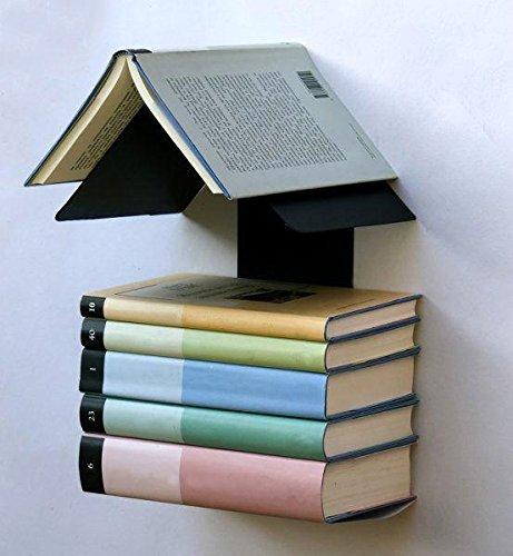DanDiBo Bücherregal Discreto 10106 Plus Bücherturm Regal Buchregal unsichtbar Wandregal
