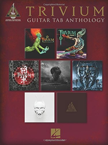 Trivium - Guitar Tab Anthology (Guitar Recorded Versions)