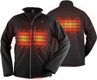 PROSmart Men Heated Jacket Waterproof Heating Jackets Coat with Battery Pack