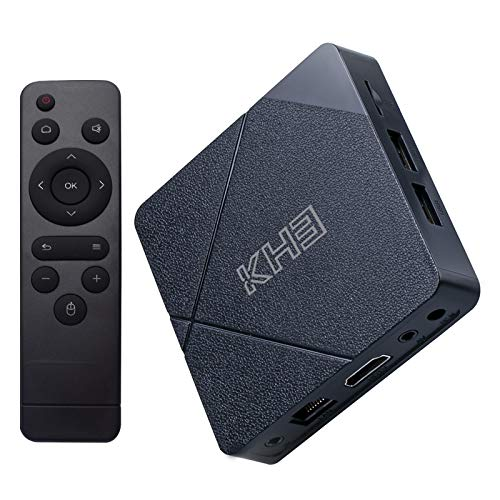 Android 10.0 TV Box, KH3 Android TV Box 2GB RAM 16GB ROM AllWinner H313 Quad-core Support 3D USB HD H.265 2.4G WiFi Ethernet 4K
