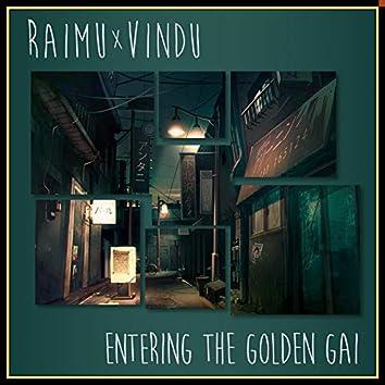 Entering the Golden Gai