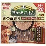 いなば ドッグフード ちゅ~るごはん とりささみ&ビーフ チキンミックス味 14g×20本
